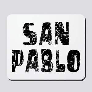 San Pablo Faded (Black) Mousepad