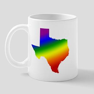 Texas Gay Pride Mug