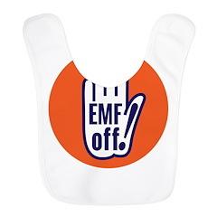 EMF off! Polyester Baby Bib