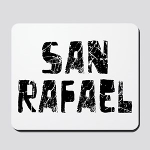 San Rafael Faded (Black) Mousepad