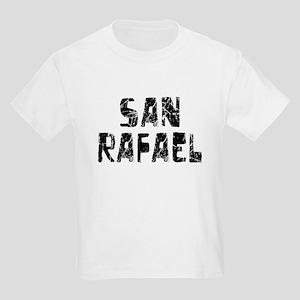 San Rafael Faded (Black) Kids Light T-Shirt