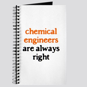chemical engineers are right Journal