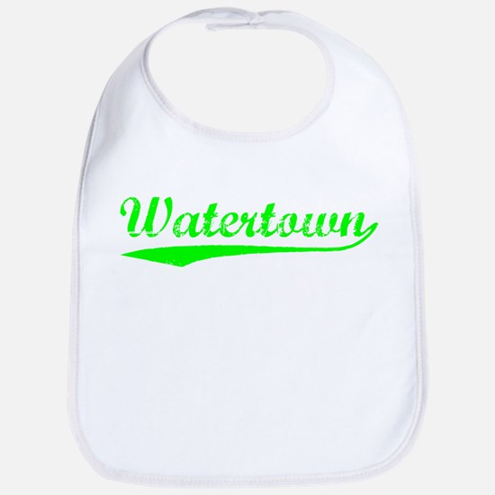 Vintage Watertown (Green) Bib
