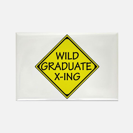 Wild Graduate Rectangle Magnet (100 pack)