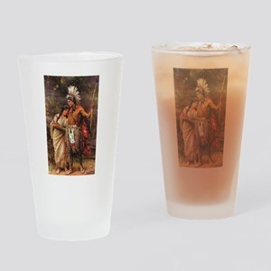 more man and woman joined Drinking Glass