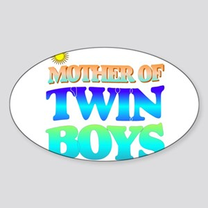 Twin boys mother Sticker