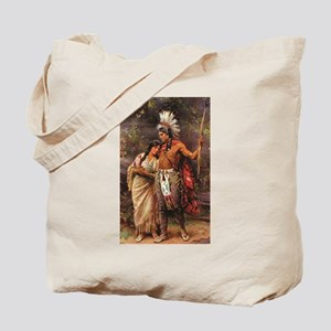 more man and woman joined Tote Bag