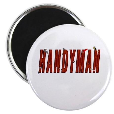 "HANDYMAN 2.25"" Magnet (100 pack)"