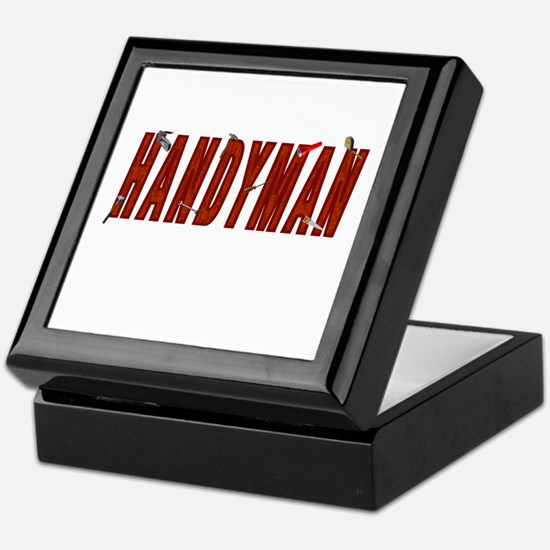HANDYMAN Keepsake Box