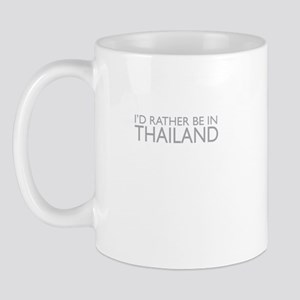 I'd rather be in Thailand Mug