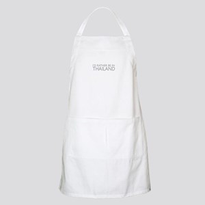 I'd rather be in Thailand BBQ Apron