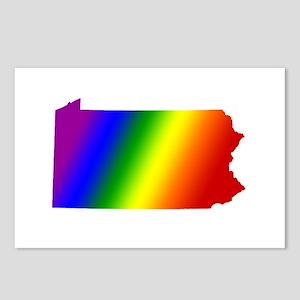 Pennsylvania Gay Pride Postcards (Package of 8)