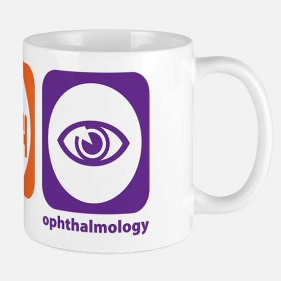 Eat Sleep Ophthalmology Mug