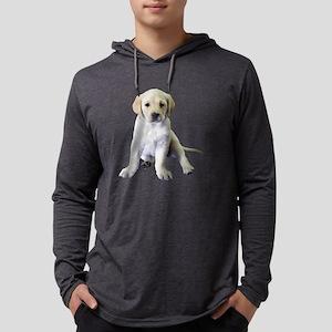 Noble Labrador Puppy Mens Hooded Shirt