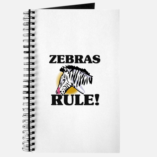 Zebras Rule! Journal