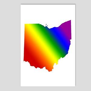 Ohio Gay Pride Postcards (Package of 8)