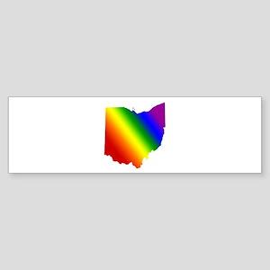 Ohio Gay Pride Bumper Sticker