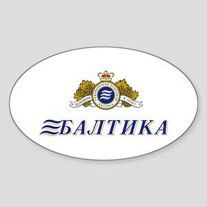 Piva Baltika Oval Sticker