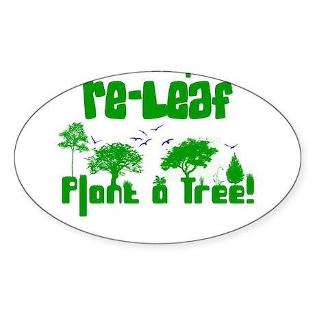 Releaf Oval Sticker