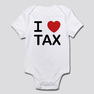 """I Love Tax"" Infant Bodysuit"