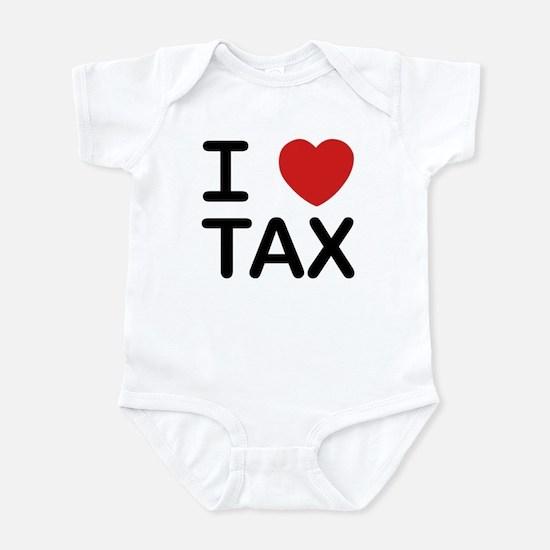 """I Love Tax"" Infant Bodysuit"
