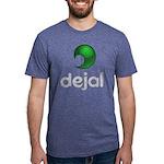 Mens Triblend Dejal Logo T-Shirt