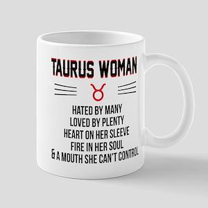 Taurus Woman Mugs