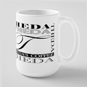 Theda's coffee, Large Mug