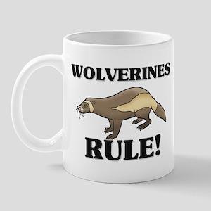 Wolverines Rule! Mug