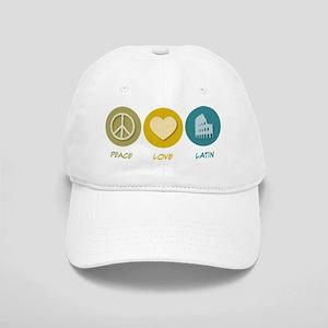 Peace Love Latin Cap