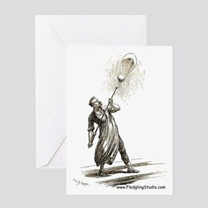 Traditional Glassblower Greeting Card