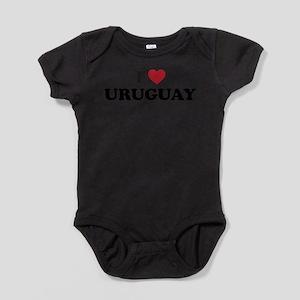 I Love Uruguay Infant Bodysuit Body Suit