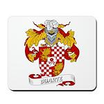 Duarte Family Crest Mousepad