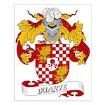 Duarte Family Crest Small Poster