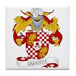 Duarte Family Crest Tile Coaster