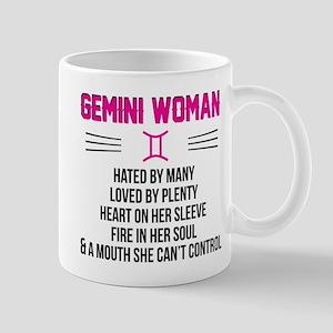 Gemini Woman Mugs