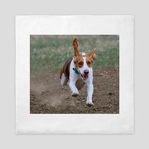 Flying Beagle Hank Queen Duvet