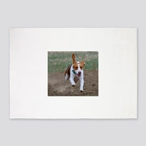 Flying Beagle Hank 5'x7'Area Rug