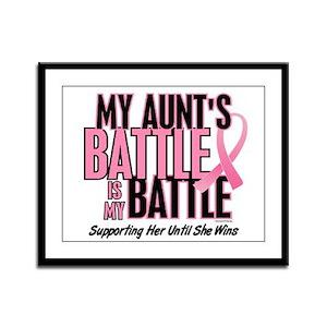 My Battle 1 (Aunt BC) Framed Panel Print