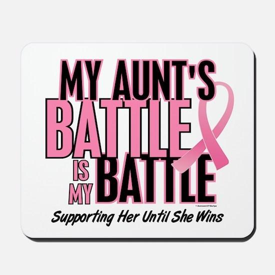 My Battle 1 (Aunt BC) Mousepad