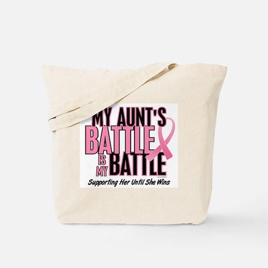 My Battle 1 (Aunt BC) Tote Bag