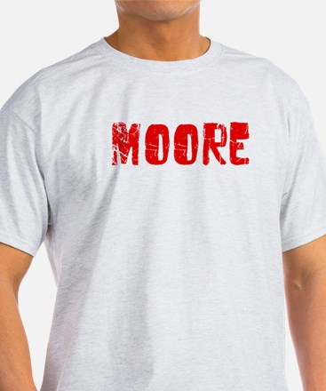 Moore Faded (Red) T-Shirt