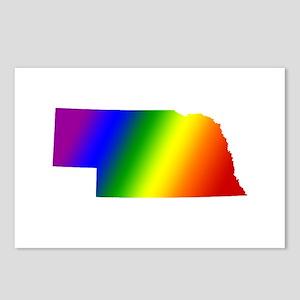 Nebraska Gay Pride Postcards (Package of 8)