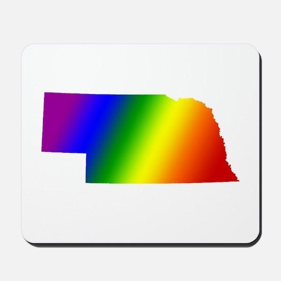 Nebraska Gay Pride Mousepad