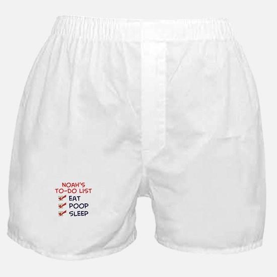 Noah's To-Do List Boxer Shorts