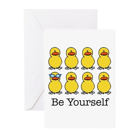 BE YOURSELF Greeting Cards (Pk of 20)