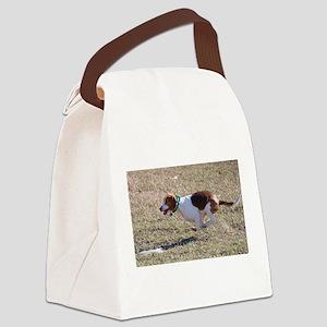 Flying Beagle Canvas Lunch Bag
