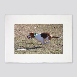 Flying Beagle 5'x7'Area Rug