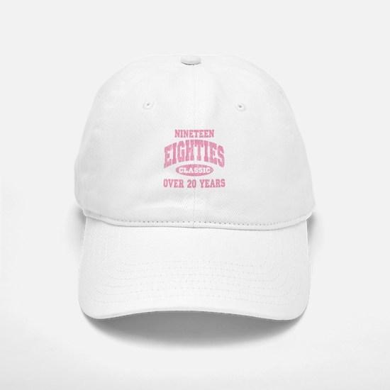 1980's Classic Pink Baseball Baseball Cap
