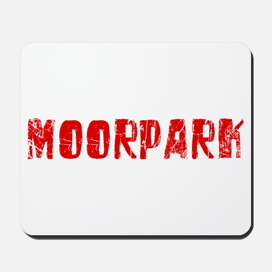 Moorpark Faded (Red) Mousepad